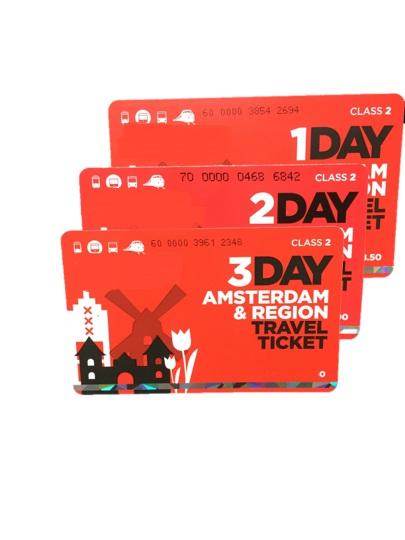 Amsterdam & Region Travek Ticket