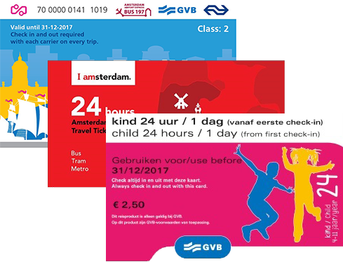Amsterdam Day Tickets