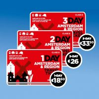 Amsterdam & Region Travel Ticket Front