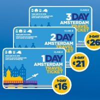 travel ticket amsterdam