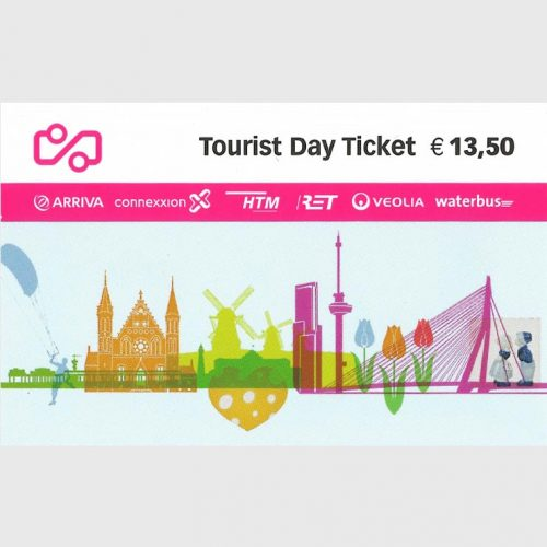 Tourist Day Ticket Front Side