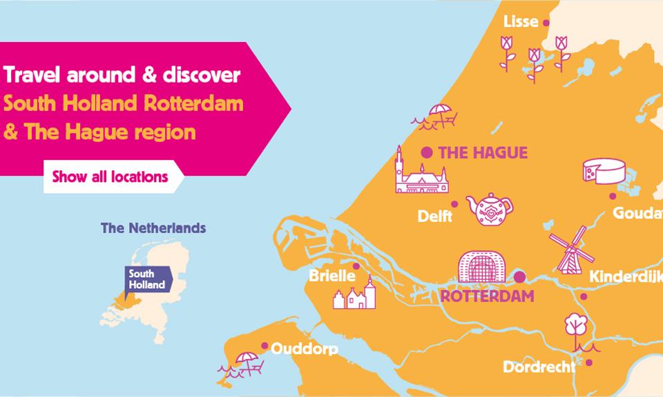 Tourist Day Ticket - Rotterdam – The Hague