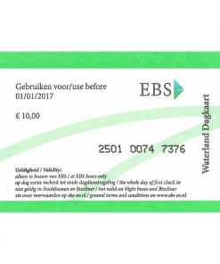 Amsterdam Waterlands Day Ticket Front Side