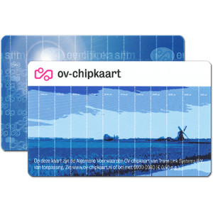 Public Transport Chip Card Anonymous Both Sides