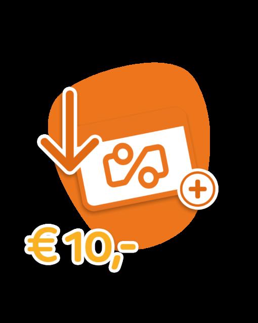 Travel Cerdit €10,-