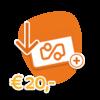 Travel Cerdit €20,-