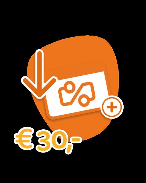Travel Cerdit €30,-