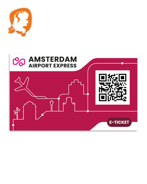 Amsterdam Airport Express ticket