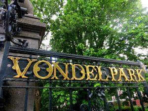 Entrance Vondelpark