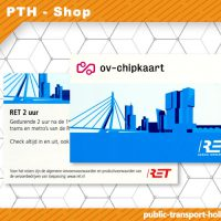 Rotterdam 2-hour Transport ticket