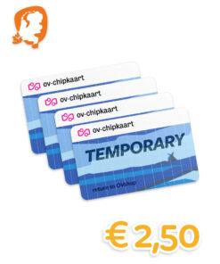 Temporary Lease OV-chipkaart