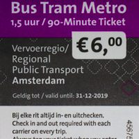 BTM 1.5 hour ticket