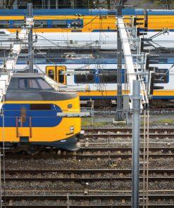 NS Trein in Amsterdam