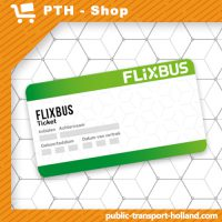 Flixbus ticket